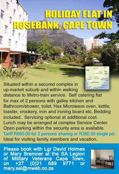 Holiday Flat for rent in Rosebank, Cape Town
